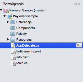 Step 1.0 - Xamarin Payleven Sample iOS Project & Solution