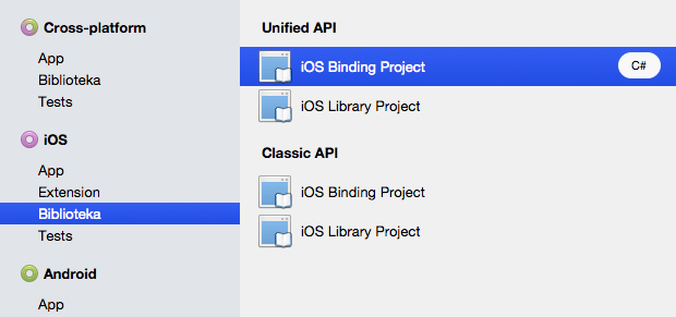 Step 1.1 - Xamarin Payleven new Binding Project