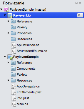 Step 1.2 - Xamarin Payleven complete solution