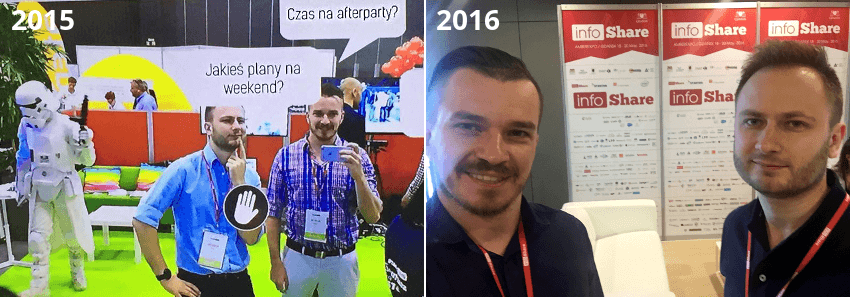 applandeo at infoshare tech conferences in poland